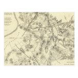 Battlefields in Front of Nashville Postcard