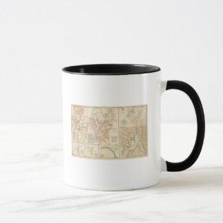 Battlefields Nashville, Tenn Mug
