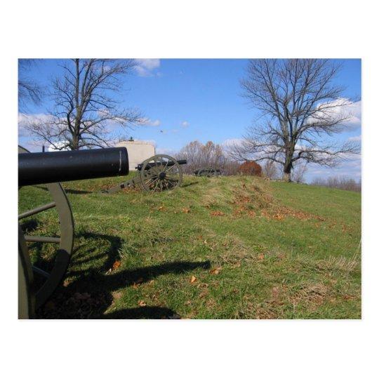 Battlefields of Gettysburg Postcard