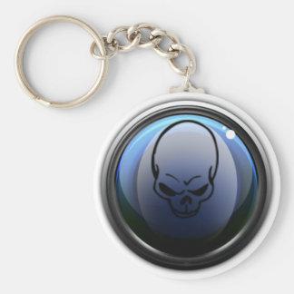BattlePlanet Key Ring Basic Round Button Keychain