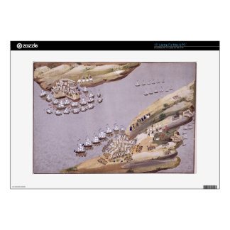 """Battles for the Islands of Crete and Samos, plate Skin For 15"""" Laptop"""
