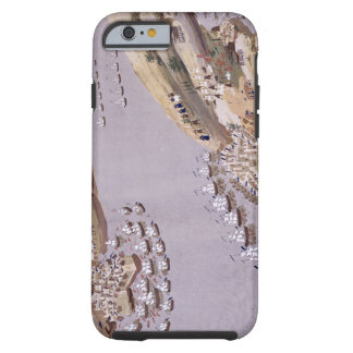 Battles for the Islands of Crete and Samos, plate Tough iPhone 6 Case