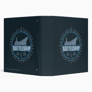 Battleship A4 B6 Vinyl Binders
