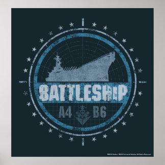Battleship A4 B6 Poster