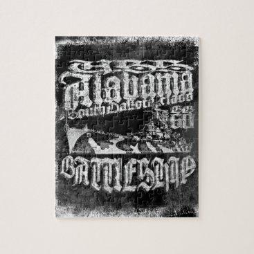 Battleship Alabama Puzzle