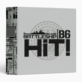 Battleship B6 Hit 2 Binder
