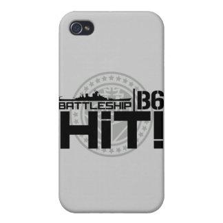 Battleship B6 Hit 2 iPhone 4 Cover