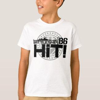 Battleship B6 Hit 2 T-Shirt