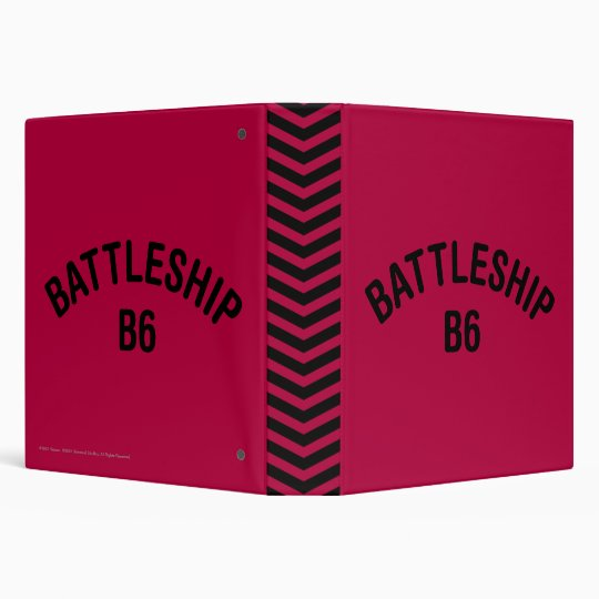 Battleship B6 Logo Binder