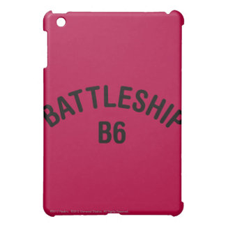 Battleship B6 Logo Cover For The iPad Mini