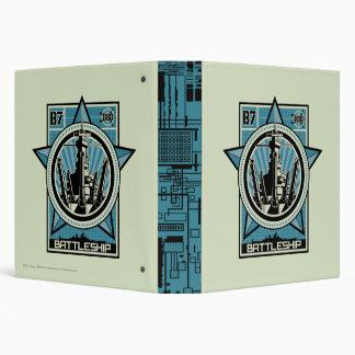 Battleship B7 Vinyl Binders