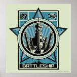 Battleship B7 Posters