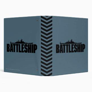 Battleship 3 Ring Binders