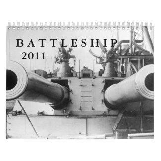 Battleship Calendar calendar