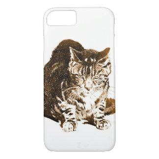 Battleship Cat 1898 iPhone 7 Case