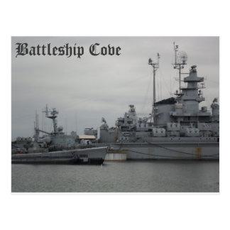 Battleship Cove Postcard