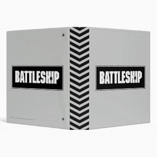 Battleship Dark 3 Ring Binder