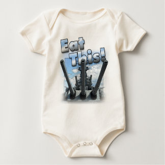 Battleship - Eat This! Baby Bodysuit