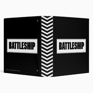 Battleship Light 3 Ring Binder