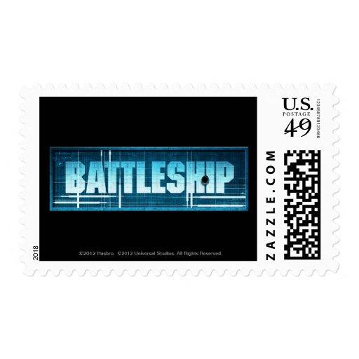 Battleship Logo Postage