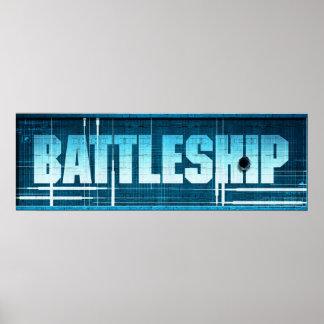 Battleship Logo Posters