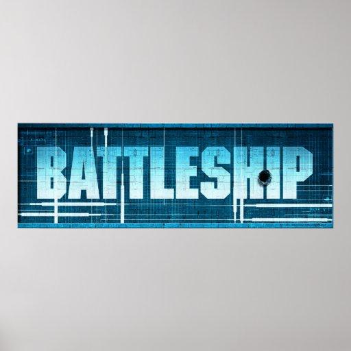 Battleship Logo Poster