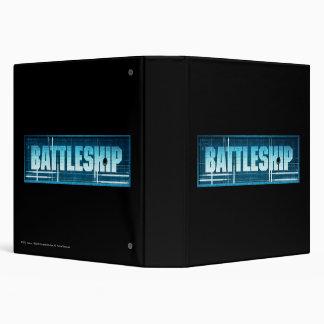 Battleship Logo Vinyl Binder