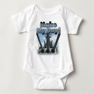 Battleship - Make My Day! Baby Bodysuit