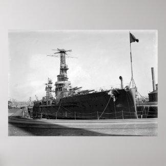 Battleship Moreno Poster