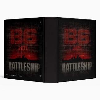 Battleship Naval 3 3 Ring Binder