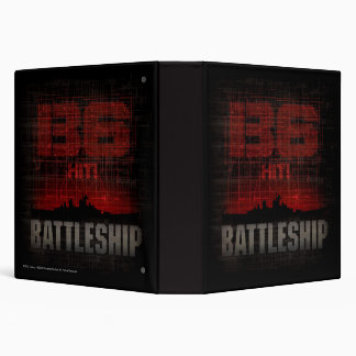 Battleship Naval 3 Vinyl Binders