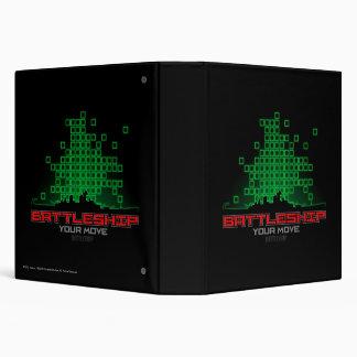 Battleship Naval 4 Vinyl Binder