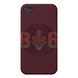 Battleship Naval 8 iPhone 4 Covers