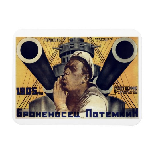"""Battleship Potemkin"" Magnet"