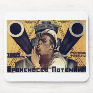 """Battleship Potemkin"" Mousepad"