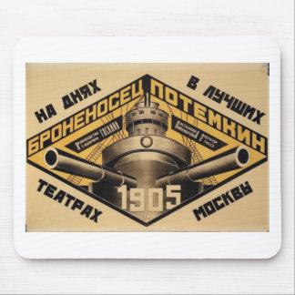 'Battleship Potemkin' movie ad print Mouse Pad