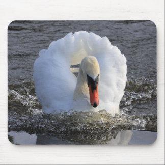 Battleship Swan Mouse Pad