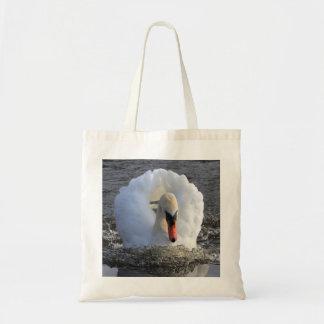 Battleship Swan Tote Bag