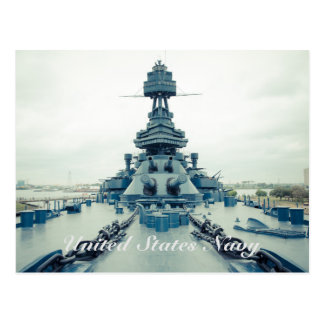 Battleship Texas Museum ship at San Jacinto State Postcard