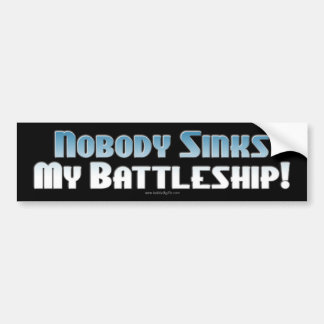 Battleship: The Game... Bumper Stickers