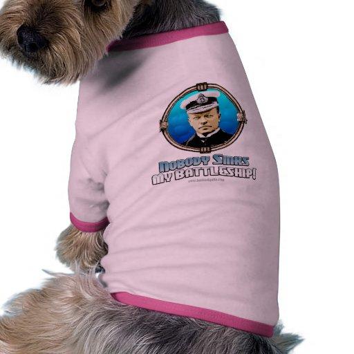 Battleship: The Game... Pet T Shirt