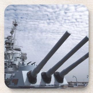 Battleship USS Alabama Beverage Coaster