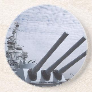 Battleship USS Alabama Coaster