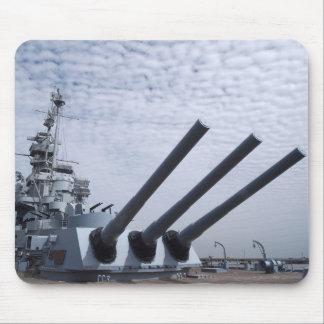 Battleship USS Alabama Mouse Pad