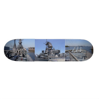 Battleship USS Wisconsin Skateboard Deck