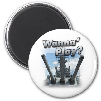 Battleship - Wanna Play? Fridge Magnets