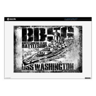 """Battleship Washington 15"""" Laptop Skin"""