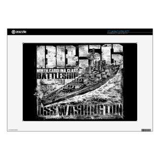 Battleship Washington Decal For Laptop Skin For Laptop