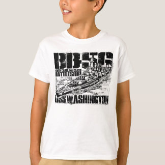 Battleship Washington Tee Shirt