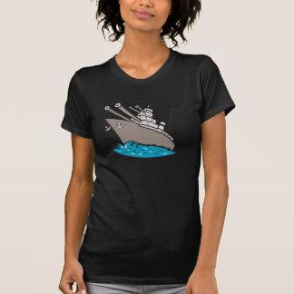 Battleship Womens T-Shirt